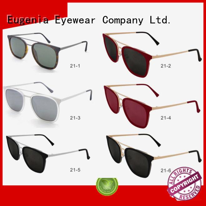 Eugenia custom wholesale stylish sunglasses quality-assured fast delivery