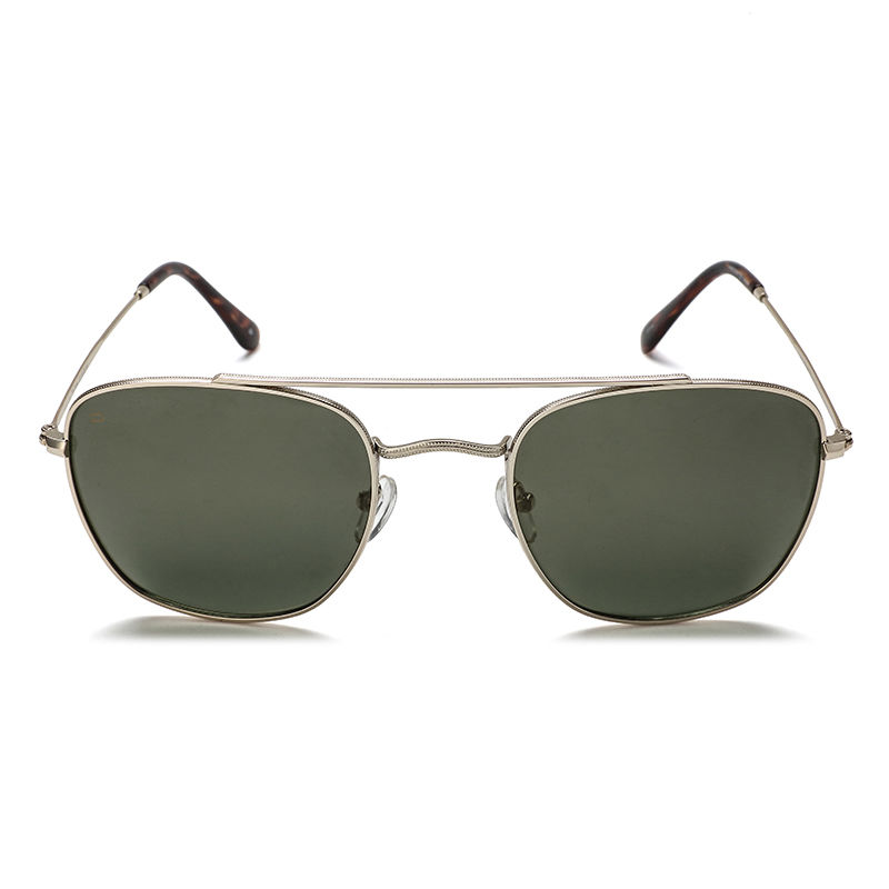 Aviator Square Embossed Fashion Sunglasses