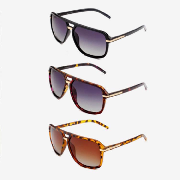 Metal Timeless Square Men Sunglasses