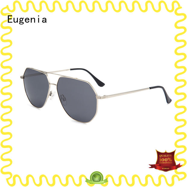 Eugenia wholesale stylish sunglasses clear lences best factory price