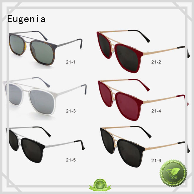 Eugenia light-weight wholesale polarized sunglasses comfortable best factory price