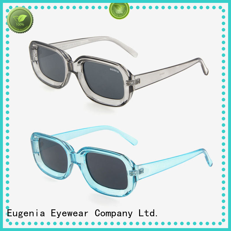 Eugenia light-weight wholesale stylish sunglasses clear lences fashion