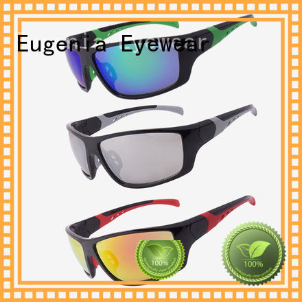 Eugenia big size vintage sport sunglasses protective anti sunlight
