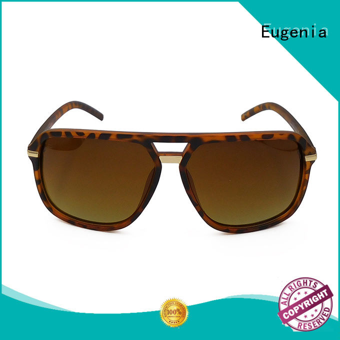 Eugenia protective custom sunglasses wholesale clear lences fast delivery