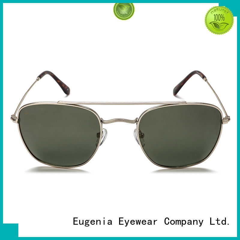 Eugenia protective wholesale trendy sunglasses clear lences fast delivery