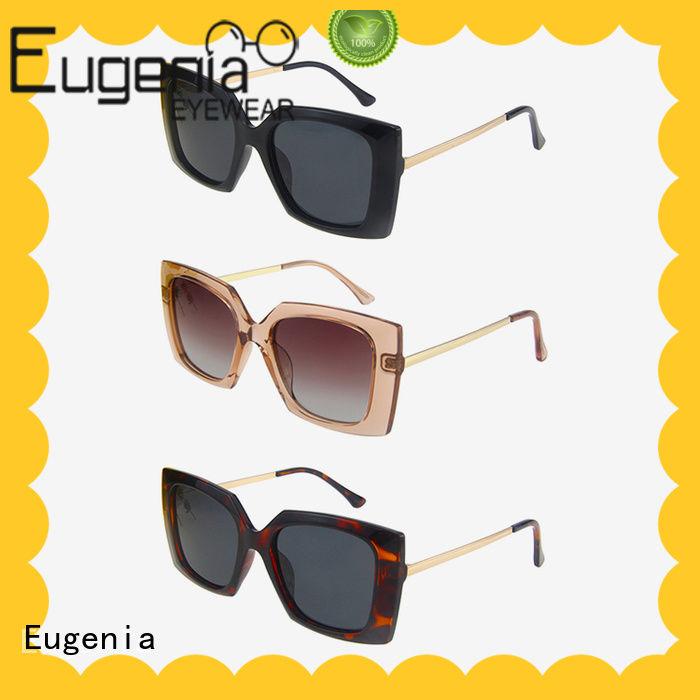 Eugenia custom colorful sunglasses in bulk comfortable fashion