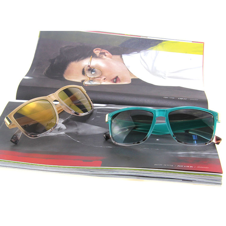 Augmented Wayfarer Square Sunglasses