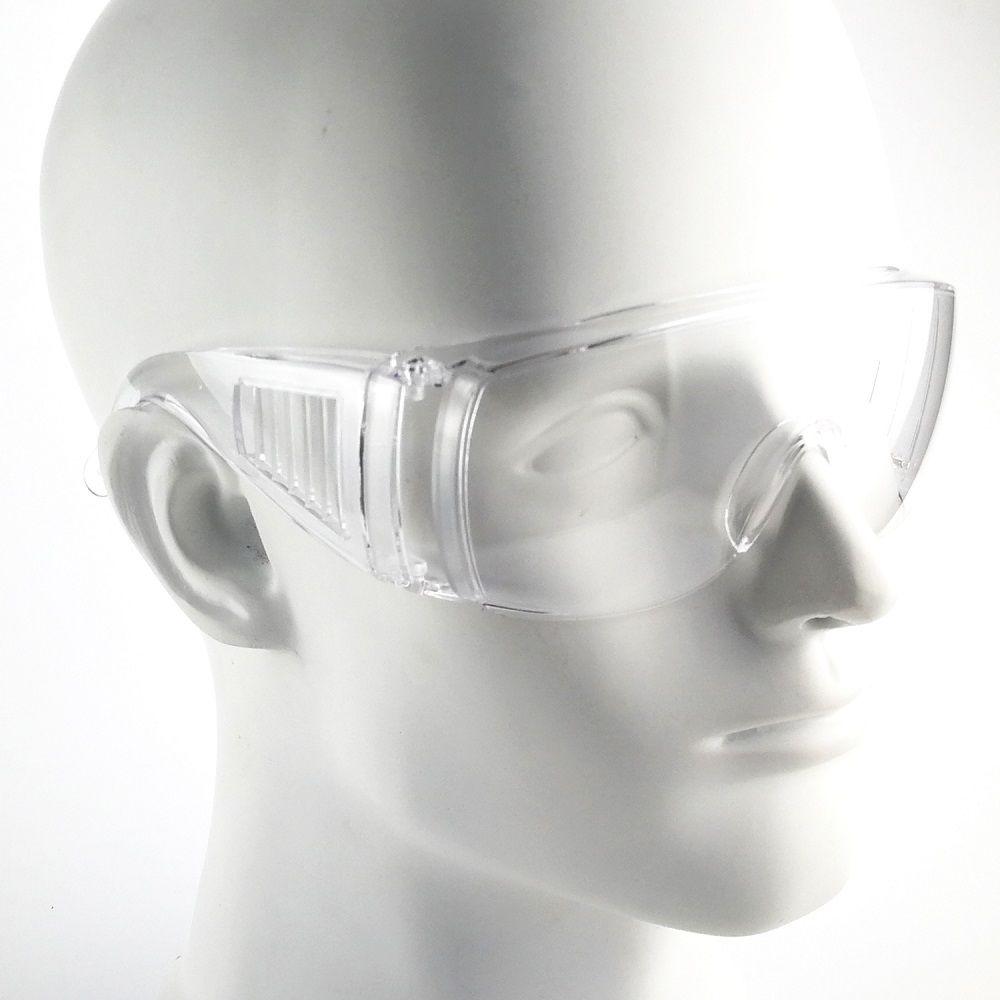 Anti-fog Clear Safety Glasses Goggles for Public Use
