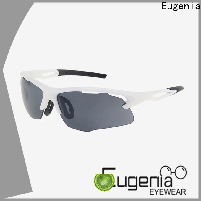 Eugenia wholesale biker sunglasses protective anti sunlight