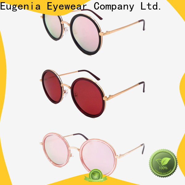 one-stop latest round sunglasses high quality best factory price