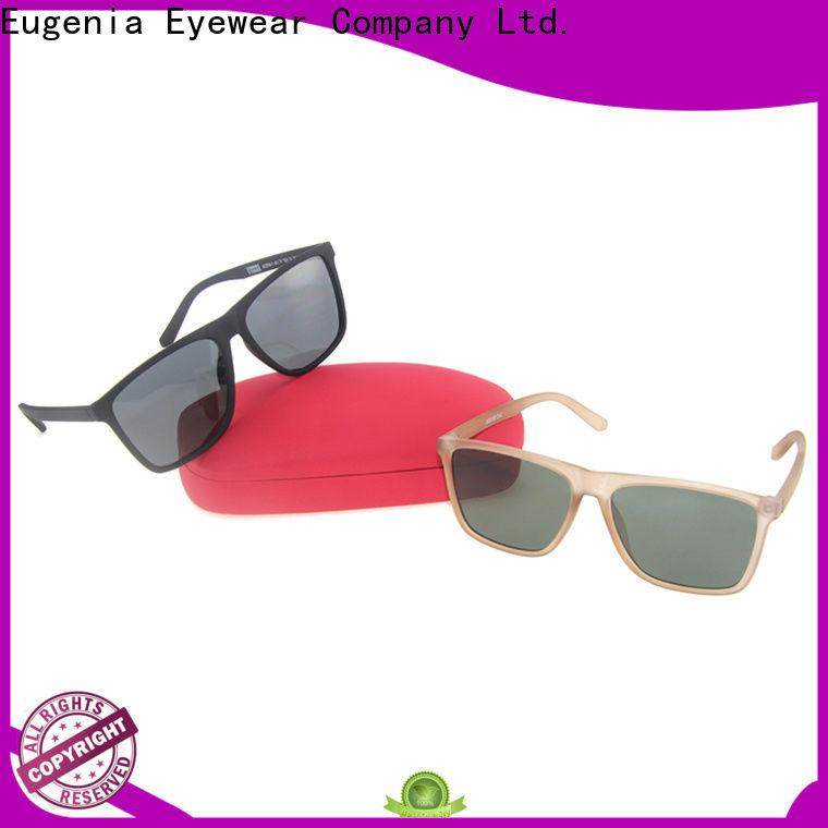 Eugenia durable square shape sunglasses wholesale fabrication