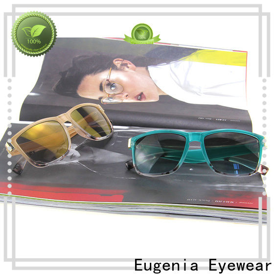 Eugenia square frame aviator sunglasses free sample fabrication