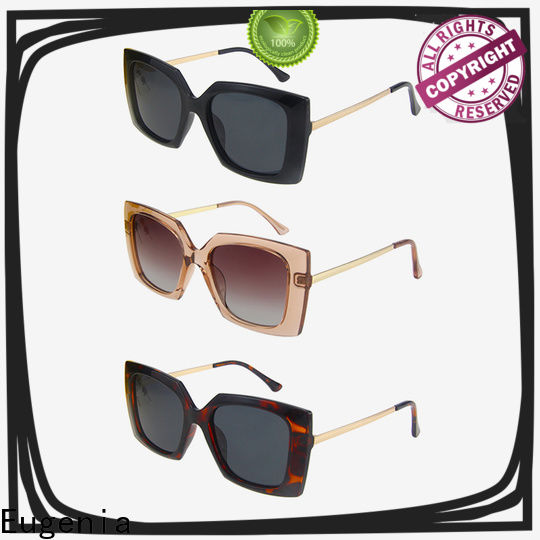 Eugenia light-weight colorful sunglasses in bulk quality-assured best factory price