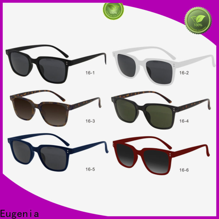 Eugenia bulk order sunglasses clear lences fashion