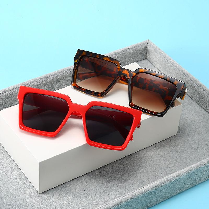 EUGENIA Hot Selling Men and Women UV 400 Shades Sun Glasses Square Brand Designer Sunglasses 2021