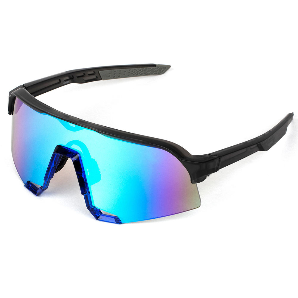 EUGENIA Custom Cycling Glasses Gafas Wholesale Durable Outdoor Oversized Pc Uv400 Spring Outdoor Sports Sunglasses