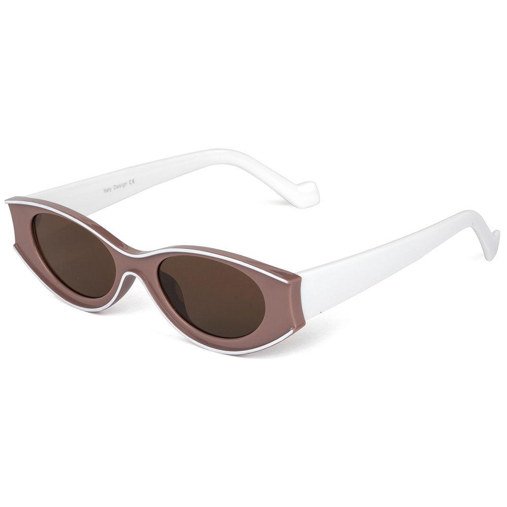 EUGENIA 2021 Wholesale Manufacturer Fashion Women Trendy Ladies Sun glasses PC Cat Eye Sunglasses