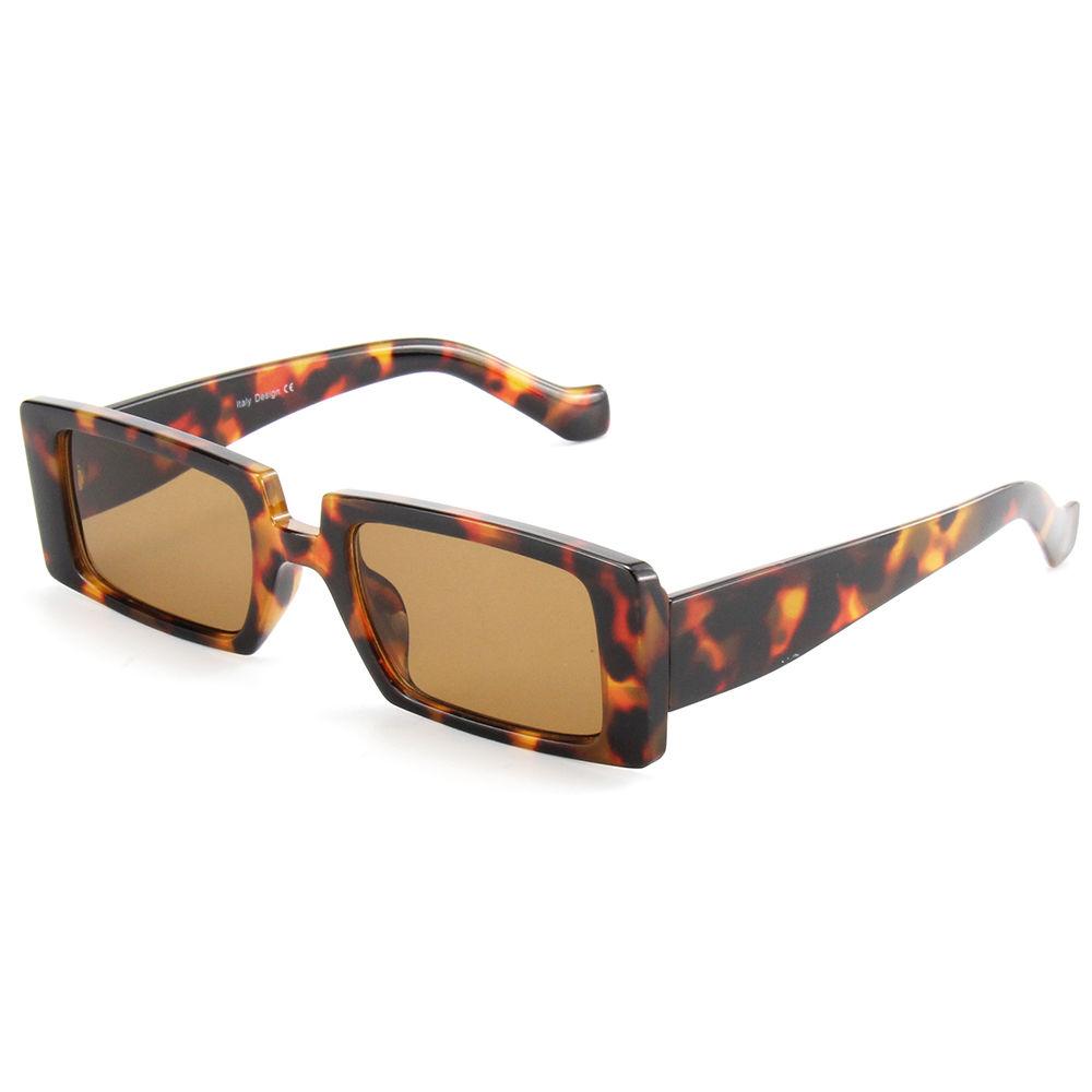 EUGENIA Small Fashion Square Sunglasses Women Retro Rectangle Men Women Sun Glasses 2021 Custom Logo