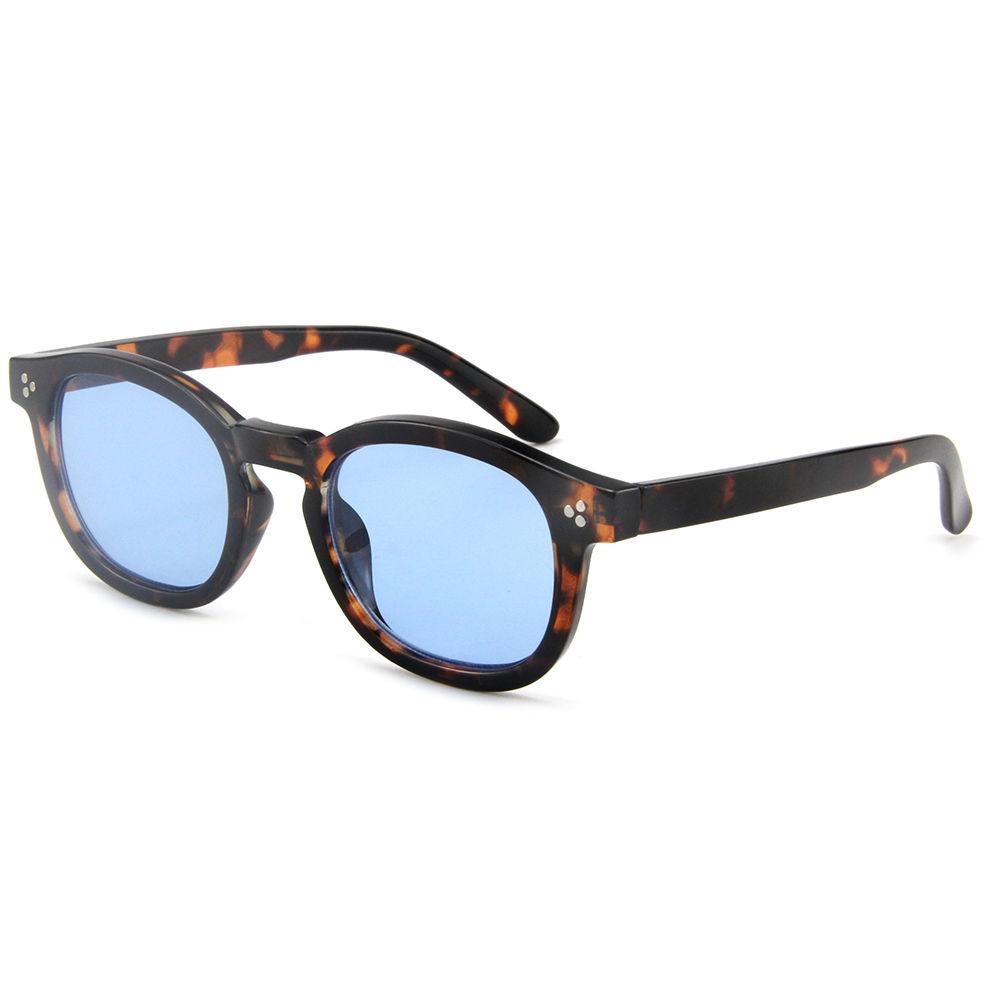 Fashion Polarized Ladies Round Sunglasses UV400 Protection Womens Sunglasses Trendy Retro Eye Glasses Oversized Sunglass