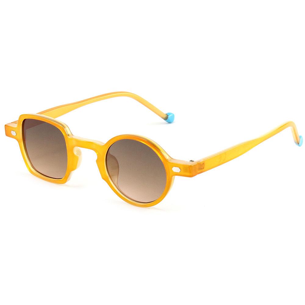 PC Frame Custom Fashion Eyewear Sun Glasses Small Frame Oversized Square Round Sunglasses 2021