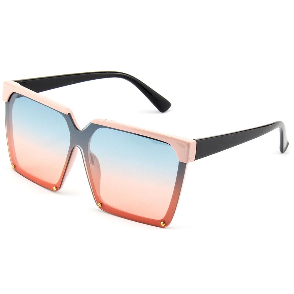 Vintage Oversized Women Sunglasses Hot Selling Fashion Female Ladies Square PC Sun Glasses