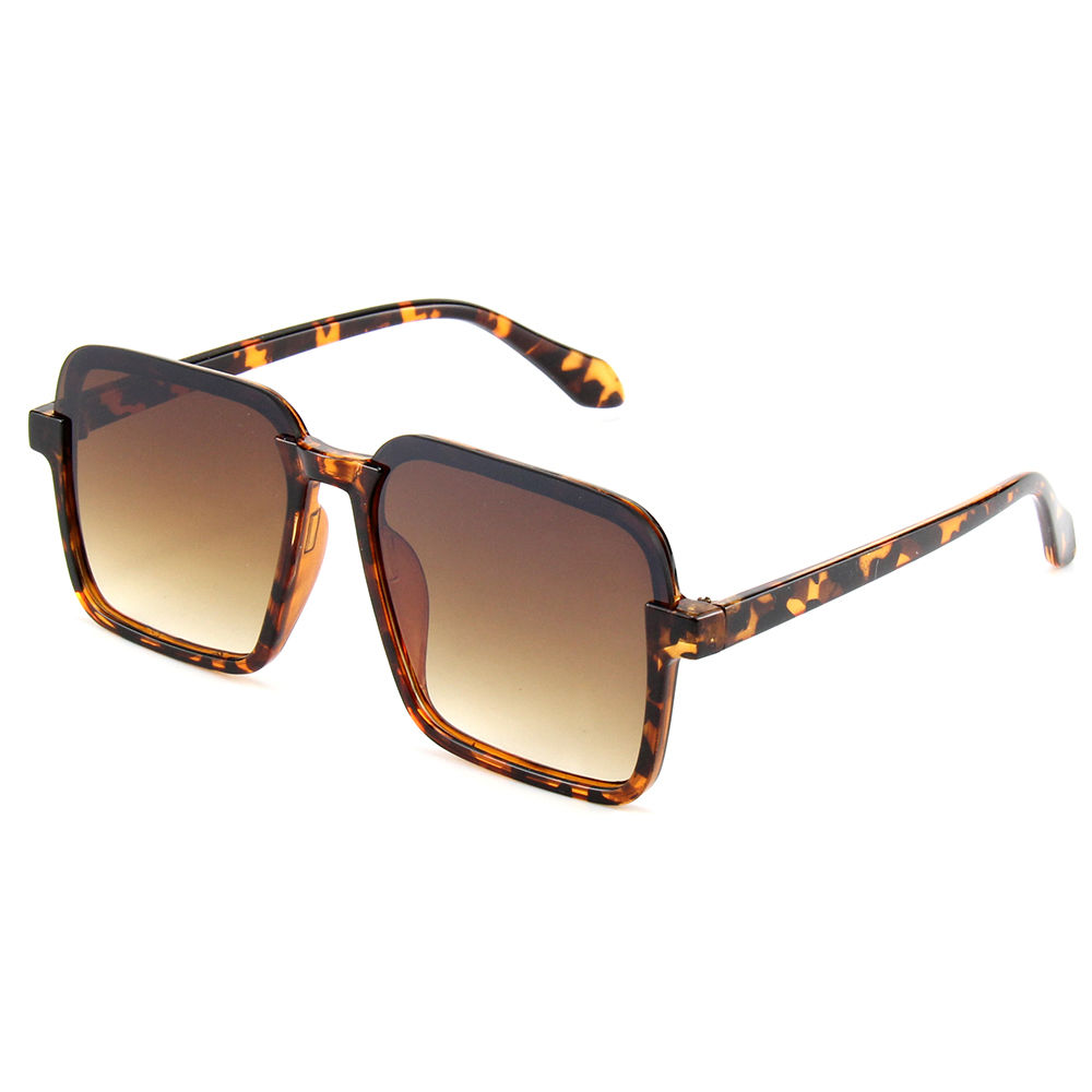 New Arrivals Custom Wholesale UV400 Optical Properties Trendy Sunglasses with PC Colour Frame