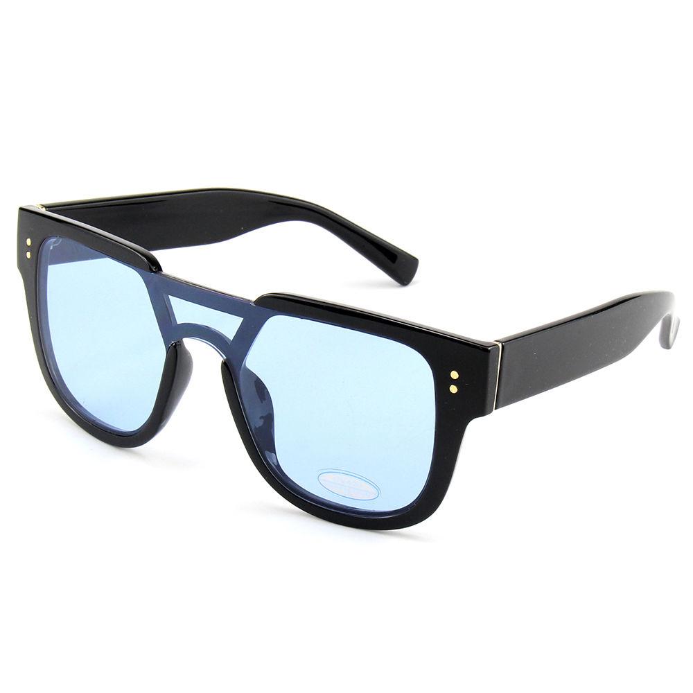 Vintage PC Frame Custom Fashion Eyewear Sun Glasses River Big Frame Women Sunglasses Oversize Sunglasses 2021