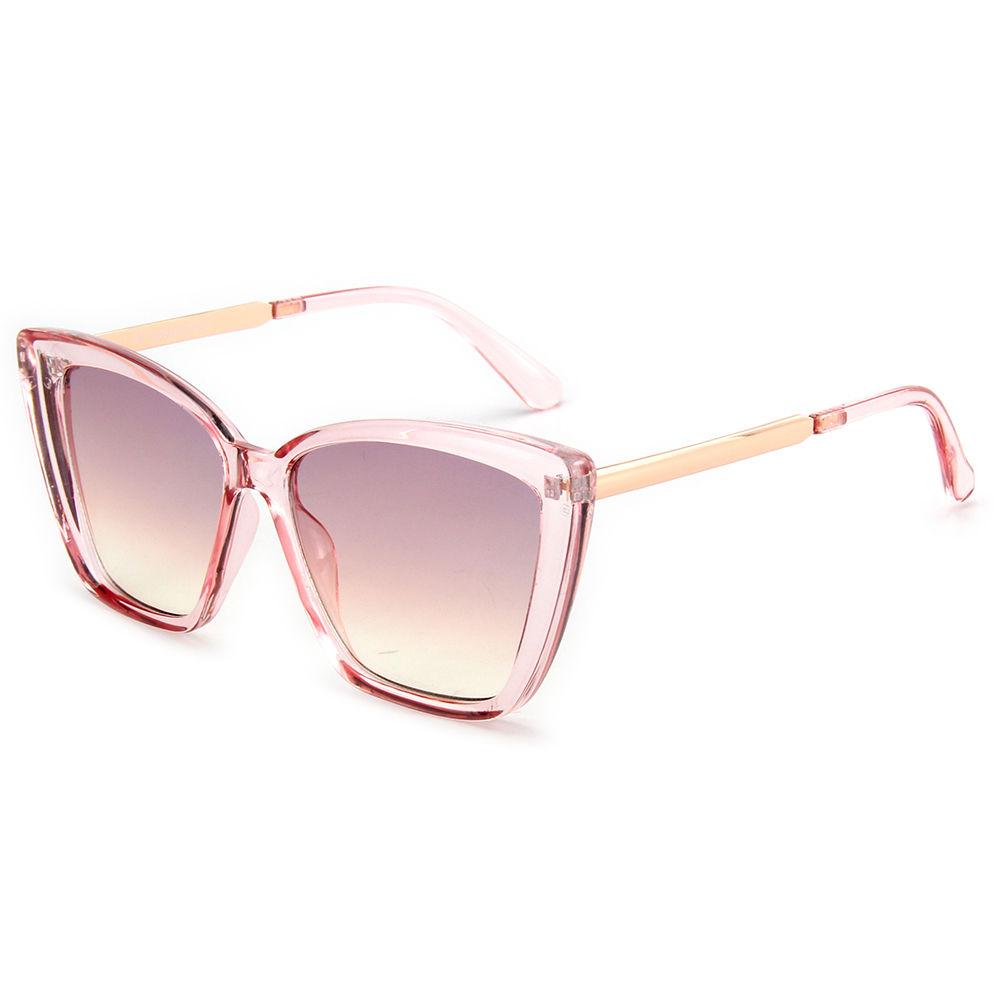 Polar Eagle Polarized Shades Sun Glasses CE UV400 Oversized Square Shape Retro Sunglass Womens
