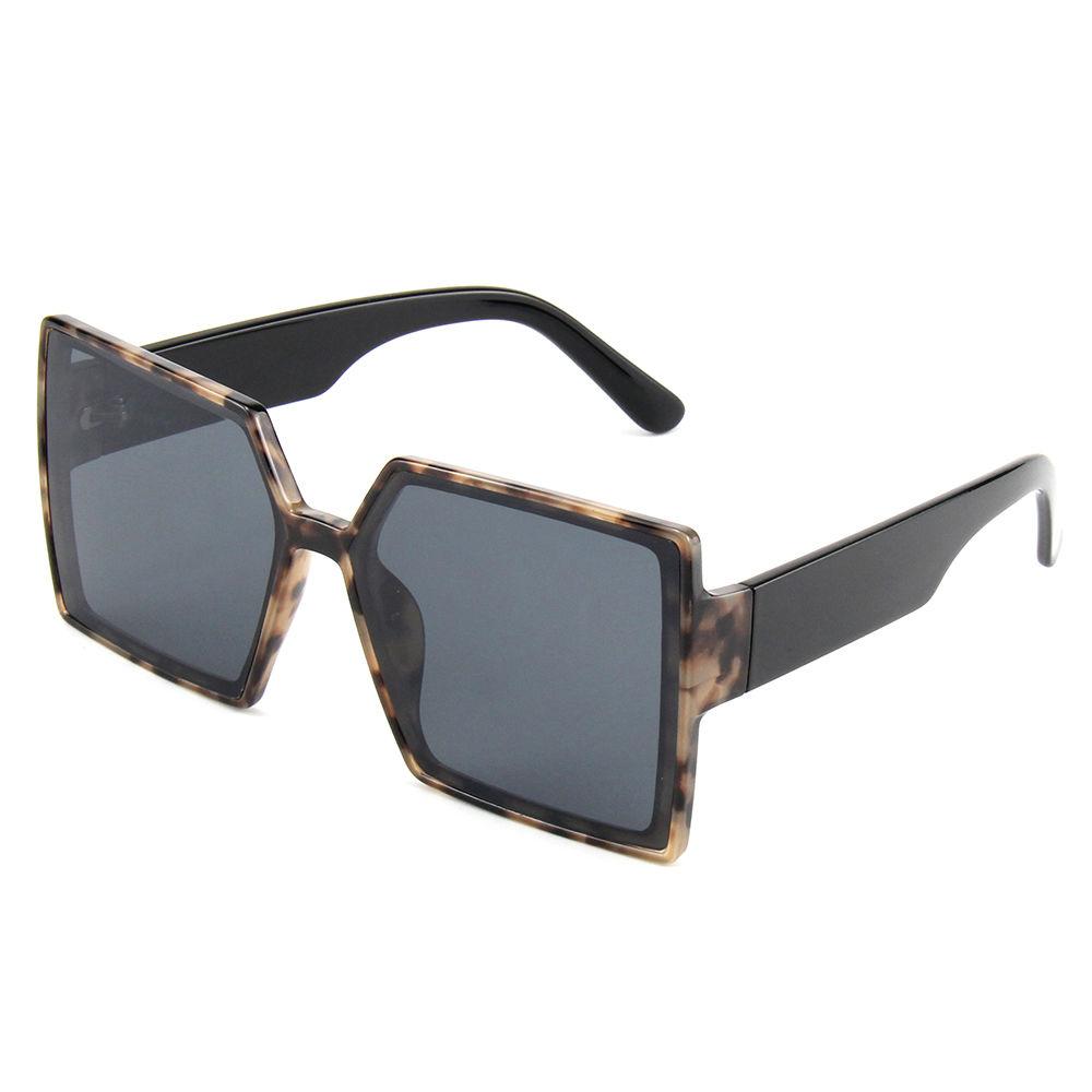 Ins Popular Men and Womens Sunglasses Wholesale Retro Summer Sunglasses 2021 Modern Colored Square Sun Glasses