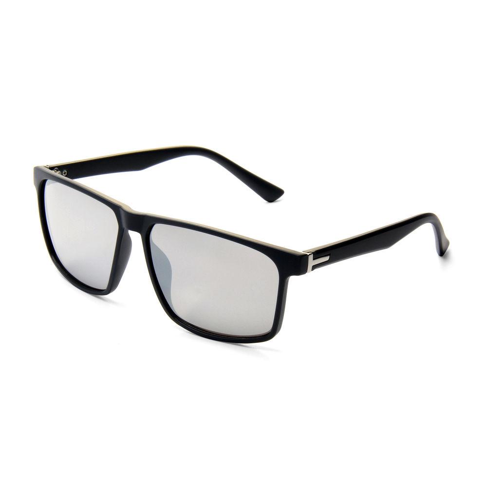 EUGENIA 2021 Metal Bar Black Polarized Mens Sunglasses