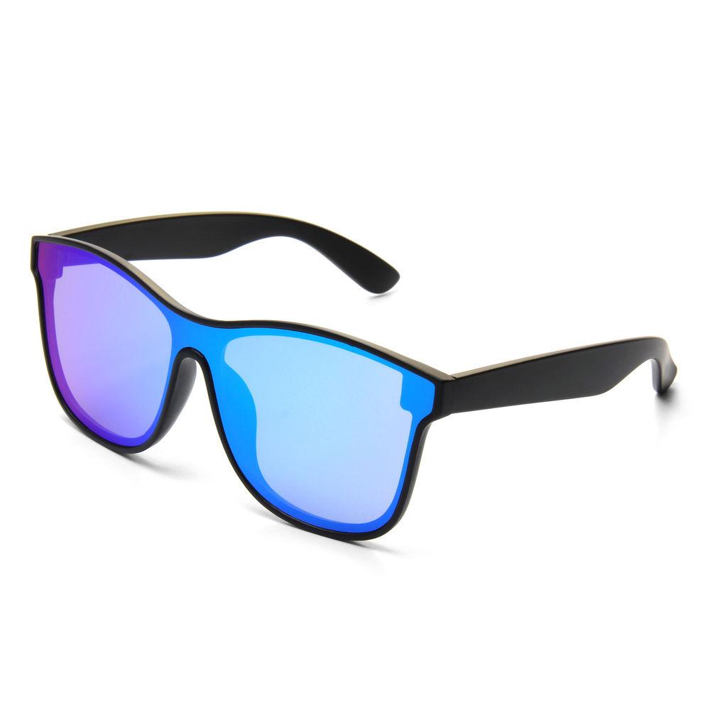 Fashion Sunglasses High Quality PC Frames UV400 Men Women Unisex One Piece Lens Sunglasses