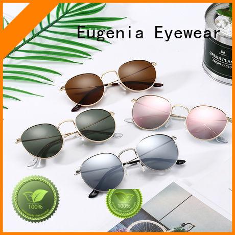 oem & odm round mirrored sunglasses customized best factory price