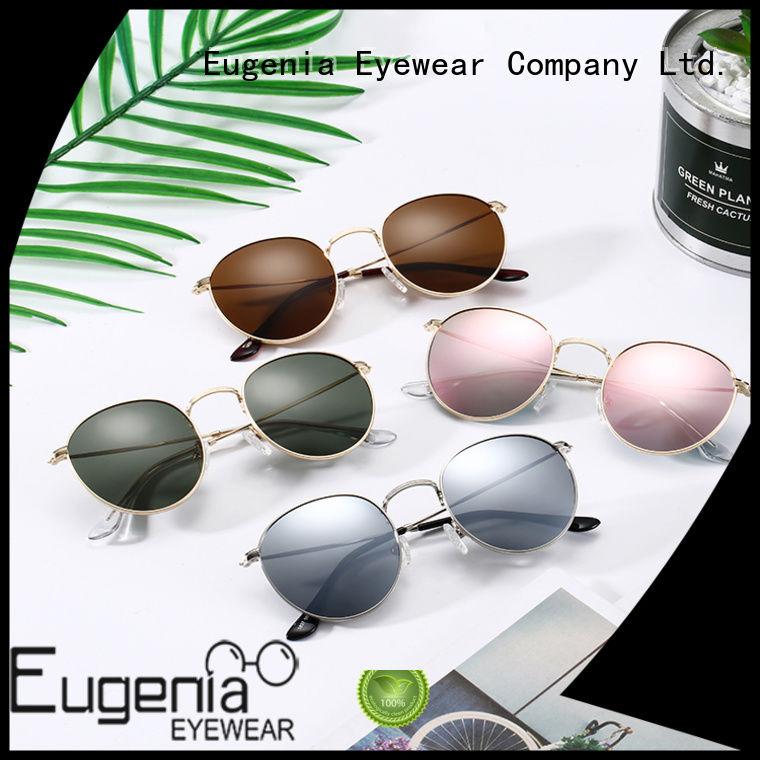 oem & odm clear round sunglasses free sample