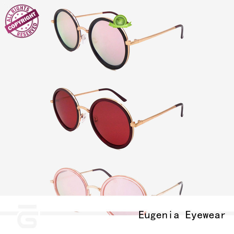 Eugenia one-stop round style sunglasses free sample