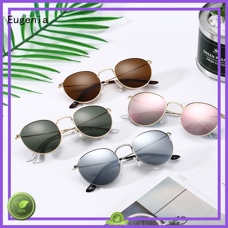 Eugenia oem & odm round style sunglasses high quality best factory price