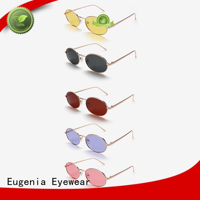 oem & odm round shape sunglasses customized best factory price
