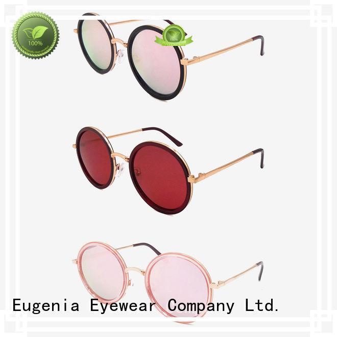 Eugenia oem & odm vintage style sunglasses wholesale customized bulk suuply
