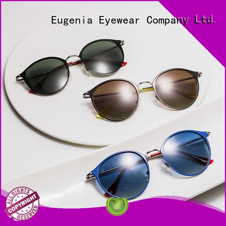 oem & odm round mirrored sunglasses free sample bulk suuply