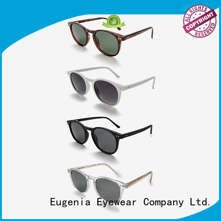 Eugenia sunglasses round metal high quality bulk suuply