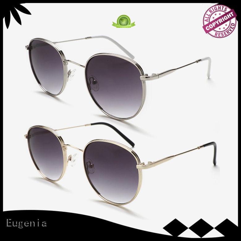 one-stop sunglasses round metal free sample