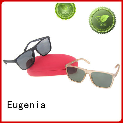 Eugenia square shades sunglasses wholesale fabrication