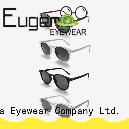 stainless steel round style sunglasses customized large capacity