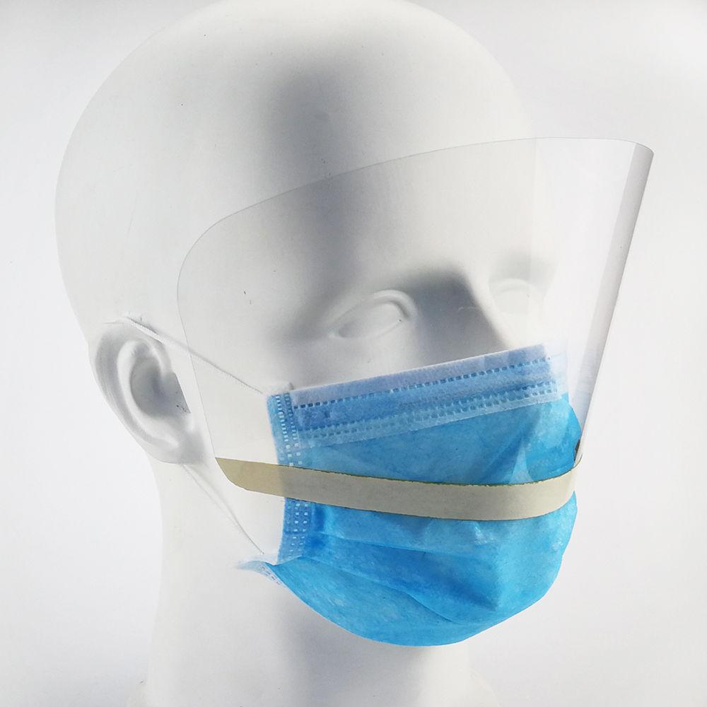 EUGENIA Eyeguard PET That Sticks Directly To The Non-Woven Protective Disposable Facemask Eye Face Shield